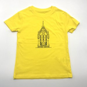 Kids Shirt Geel Stadhuis