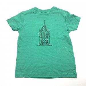 Kids Shirt Groen Stadhuis