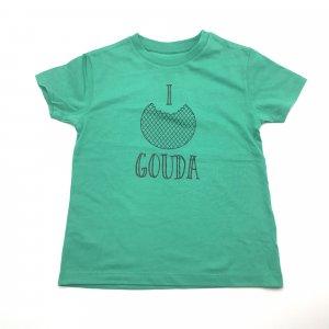 Kids Shirt Groen Stroopwafel