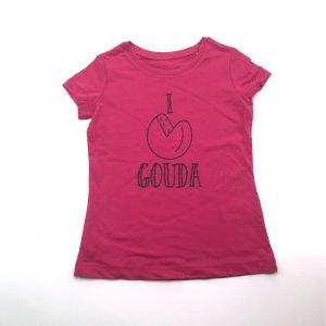 Kids Shirt Roze Kaas