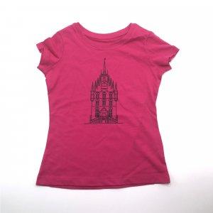 Kids Shirt Roze Stadhuis