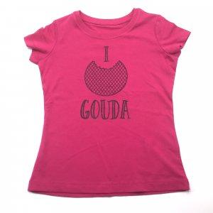 Kids Shirt Roze Stroopwafel